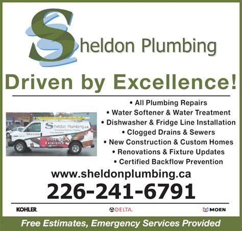 Plumbing Repair Ontario Ca by Sheldon Plumbing Opening Hours 220 Sheldon Ave N