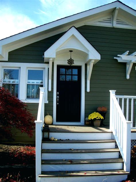 Cost Of An Awning by Build An Awning Front Door Doors Overhang Designs