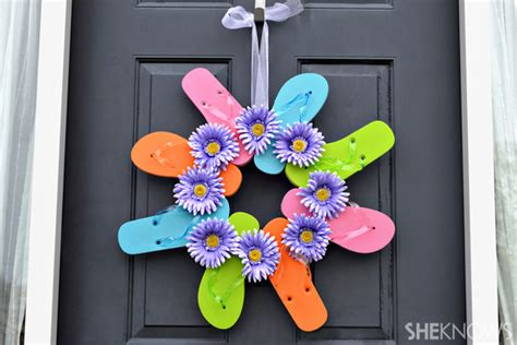 ideas for flip flop craft projects flip flop crafts for
