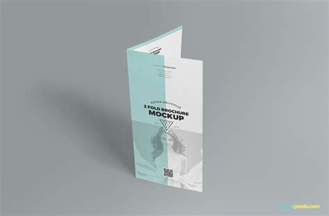 2 fold brochure template psd slick free 2 fold brochure mockup psd zippypixels