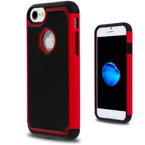 apple iphone   rugged hard shockproof  piece