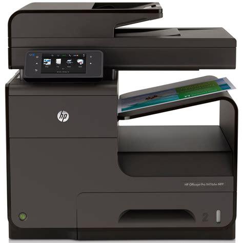 Printer Hp Officejet Pro X476dw Mfp hp officejet pro x476dw a4 colour multifunction inkjet printer cn461a