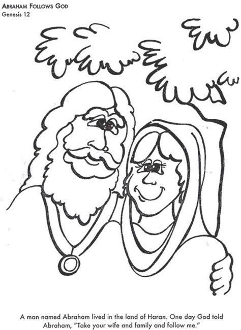 abraham stars coloring page bible coloring pages abraham follows god lesson ideas