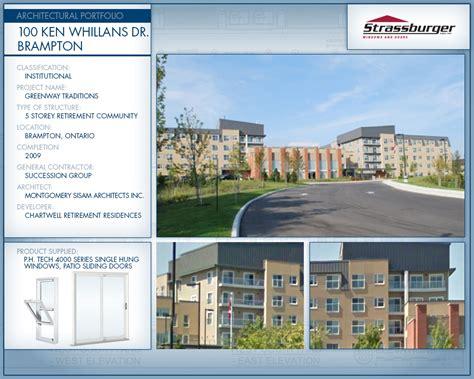 Replacement Bow Windows architectural portfolio institutional strassburger