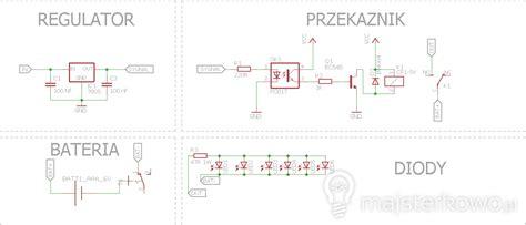dioda led obliczanie rezystora moduł awaryjnego oświetlenia 187 majsterkowo pl