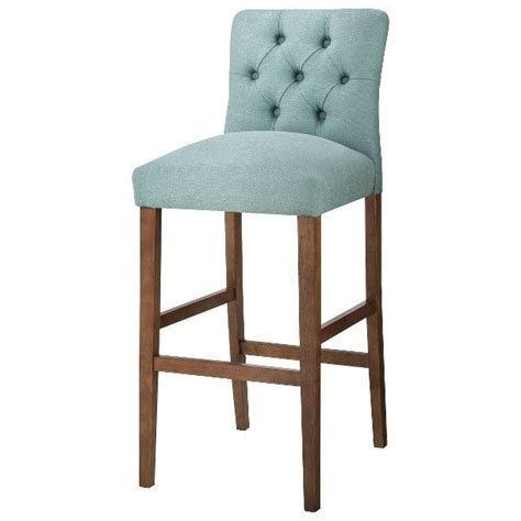 Tufted Bar Stool by Threshold 30 Quot Brookline Tufted Bar Stool Laguna