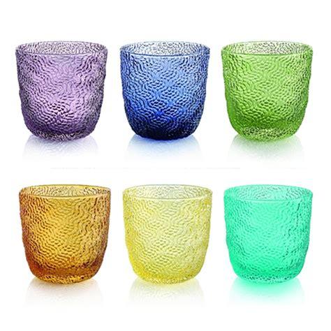 bicchieri ivv ivv set 6 bicchieri acqua tricot bicchieri acqua tricot
