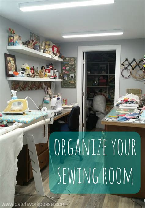 organizing your space organize your sewing room
