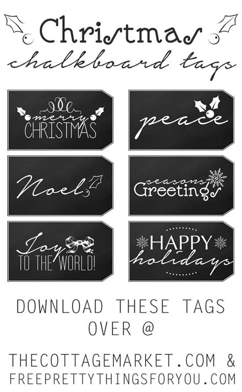printable chalkboard name tags 240 best christmas labels and christmas label templates