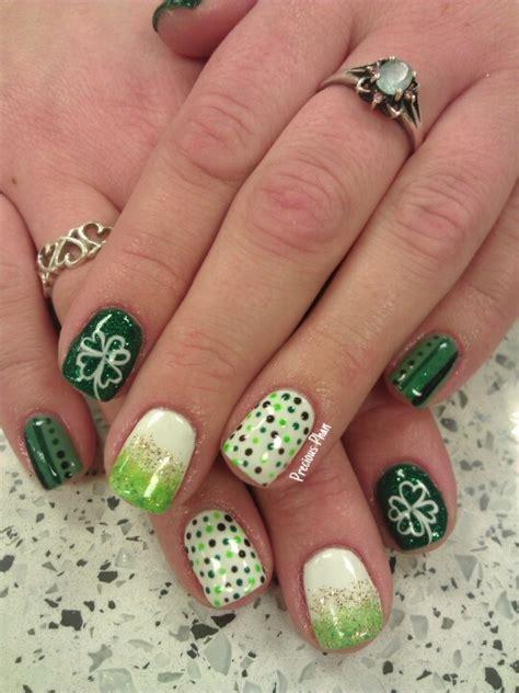 st pattern nails best 25 irish nails ideas on pinterest st patricks day
