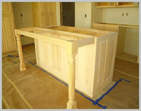 kitchen islands with posts osborne wood products inc wooden kitchen island legs