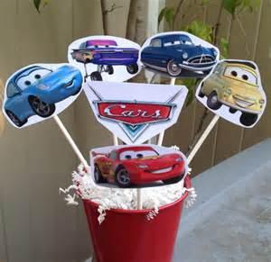 Lightning Decoration 1 Cars Centerpiece Disney Inspired Cars Decorations