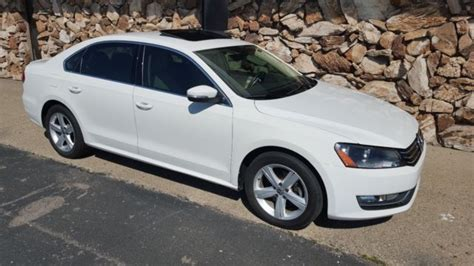 2013 Volkswagen Passat Se by 2013 Volkswagen Passat Se White Automatic Vw