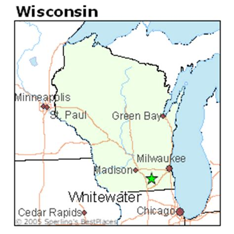 Of Wisconsin Whitewater Mba Ranking by Best Places To Live In Whitewater Wisconsin
