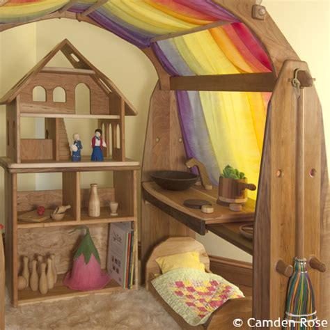 Silks Room by Wooden Play Stands Silks Camden