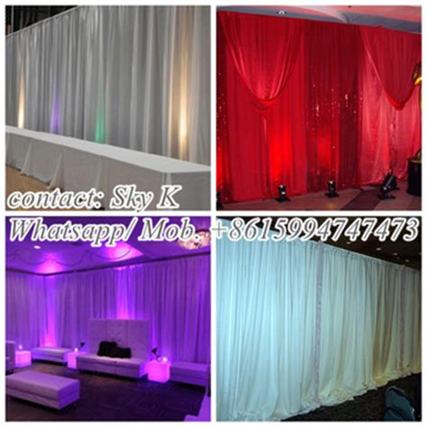 portable stage curtain wedding table settings portable stage curtain backdrop