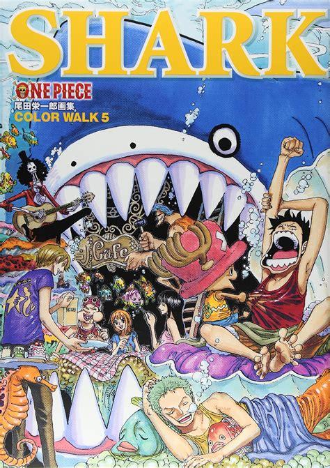 color walk one book eiichiro oda color walk 5 shark from