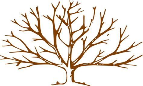 Brown Tree Clip by Clipart Tree Without Leaves Clipart Panda Free Clipart