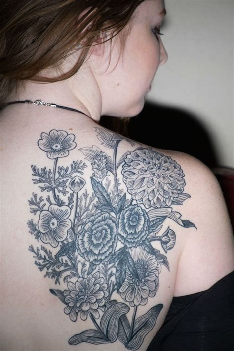 wildflower tattoos designs ideas and meaning tattoos