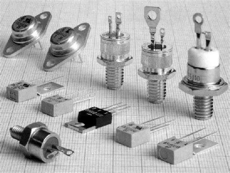 diode triac thyristors triacs and diacs
