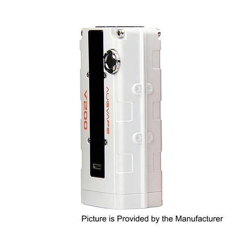 V200 Box Mod Authentic By Augvape authentic augvape v200w white 18650 tc vw variable wattage