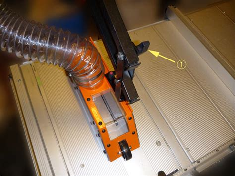 Using Exaktor Table Saw Cover On Festool Cms Table Saw