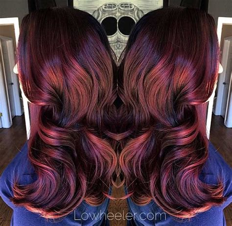 ruby hair color 21 amazing hair color ideas stayglam