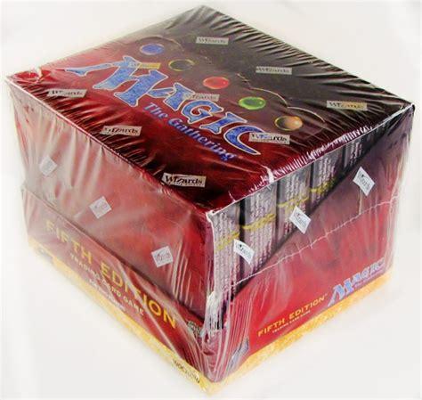 magic starter decks magic the gathering 5th edition 2 player starter deck box