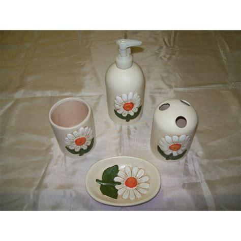 set bagno thun set bagno 4 pezzi ceramica simil thun