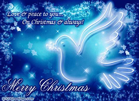 love peace  christmas  spirit  christmas ecards