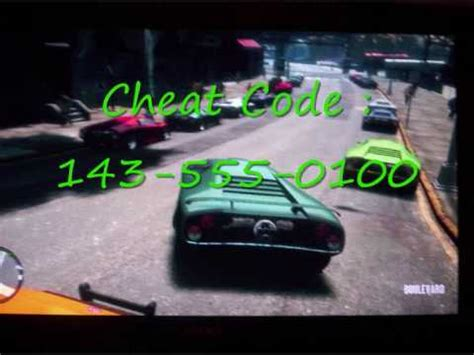 Gta 4 Cheats For Lamborghini Gta Iv Infernus Working 100