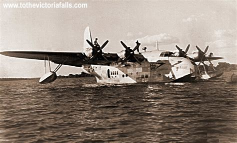 flying boat victoria falls to the victoria falls flying boats