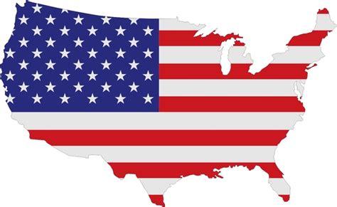 usa map ai american flag usa logo map design svg dxf eps vectordesign