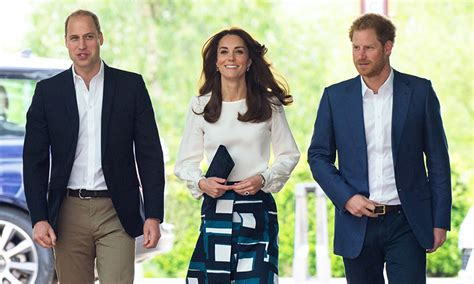 william and kate news kate middleton prince william and prince harry to host