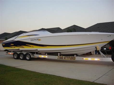 cigarette boats for sale in louisiana 2007 donzi 38 zx powerboat for sale in louisiana