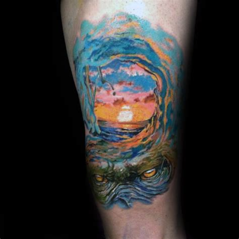 surf tattoos designs men 90 surf tattoos for oceanic design ideas