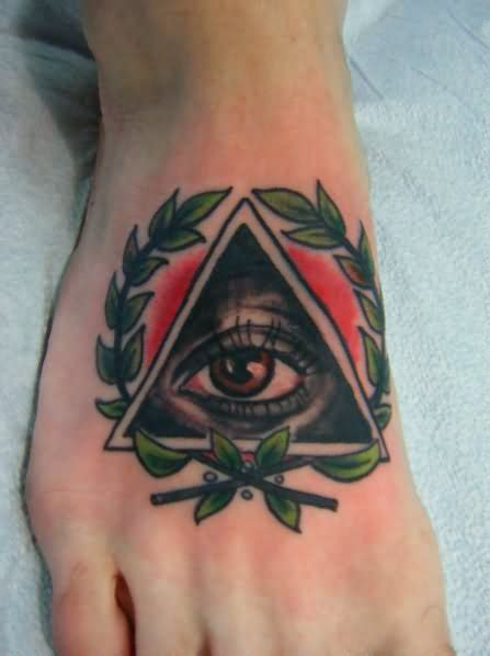 tattoo of eye in pyramid 36 traditional pyramid tattoos