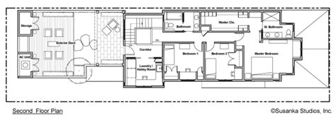 long floor plans narrow long house plans house design plans