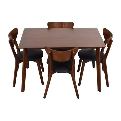 Dining Table Brown 35 Wholesale Interiors Brown Dining Table Set With