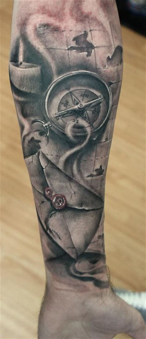 tattoo compass and map tattoo compass map and letter tattoos pinterest