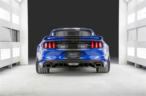 widebody truck shelby goes wide with its 2017 super snake concept motor