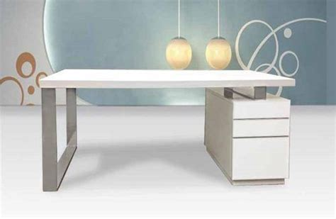 Modern Desk With Drawers Modern White Lacquer Desk With File Drawers Zciicd982 Ebay Office Downstairs Desk