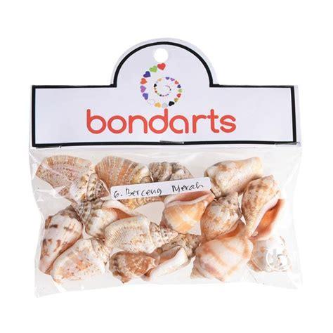 Bondarts Kerang Berceng jual bondarts kerang berceng kerajinan tangan merah 15 pcs harga kualitas