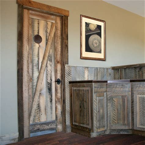 Reclaimed Barn Wood Doors Reclaimed Wood Doors Barnwood Lakeview Millworks