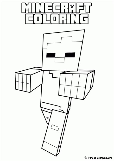 coloring pages for minecraft coloring pages for boys minecraft az coloring pages