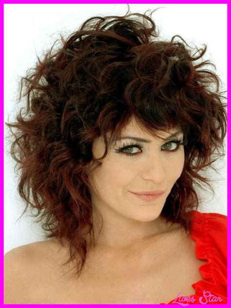 haircuts and styles curly hair haircuts for curly hair medium length livesstar com