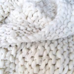 chunky knit wool blanket francois et moi