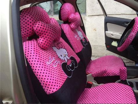 1 Set Cover Hello Pink popular hello seat covers buy cheap hello seat