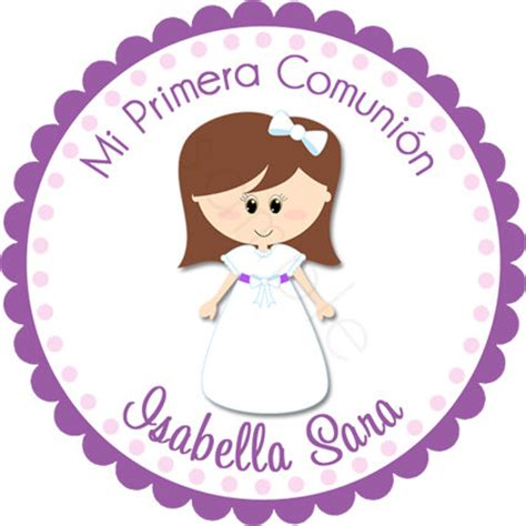 para primera comunion mi primera pictures to pin on pinterest personalized my first communion girl stickers party por