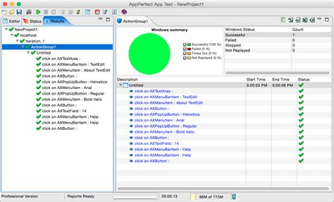 Tester Application by Application Gui Testing Appperfect
